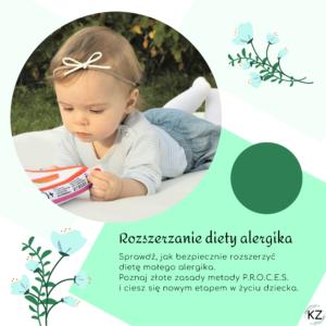rozszerzanie diety alergika, jak rozszerzać dietę alergikowi, jak wprowadzać pokarmy alergikowi