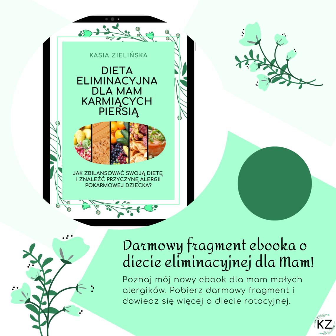 darmowy fragment ebooka, ebook o diecie eliminacyjnej, książka o diecie eliminacyjnej, jak szukać alergenów, jak znaleźć alergeny, dieta rotacyjna, dieta eliminacyjno-rotacyjna