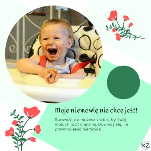 niemowlę nie chce jeść, niejadek, ile powinno zjeść niemowlę